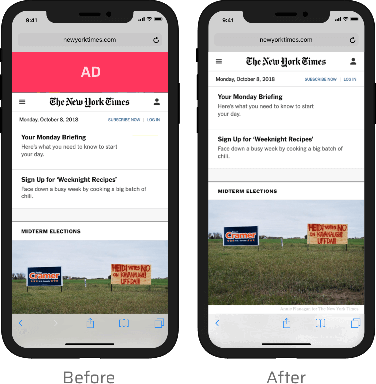 Adblock Prime - Powerful Ad Blocking for iOS